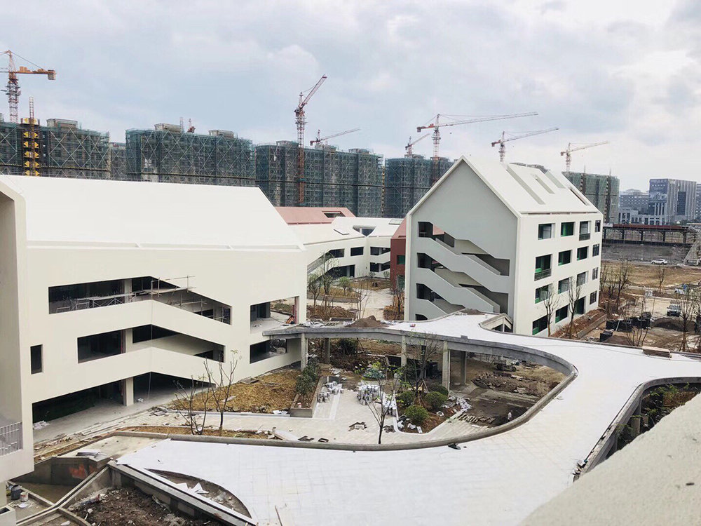 The Main Structure of Hangzhou No.2 School of Future Sci-Tech City Has been Completed