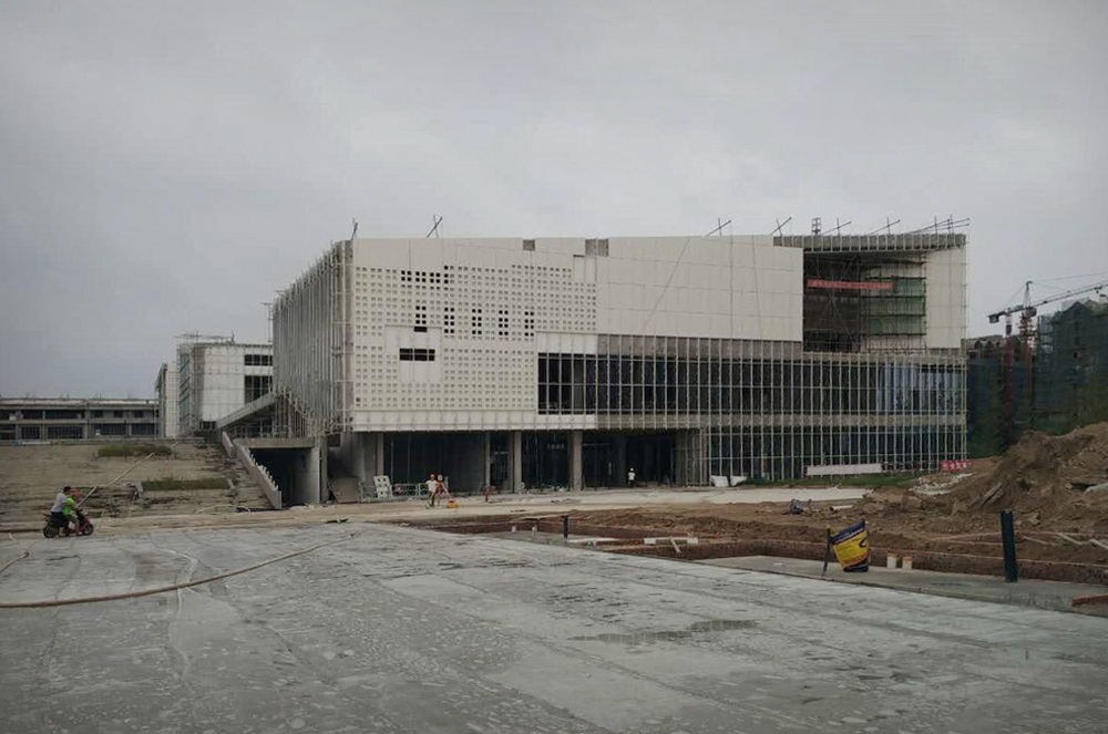 The Construction of Taihe Culture Center