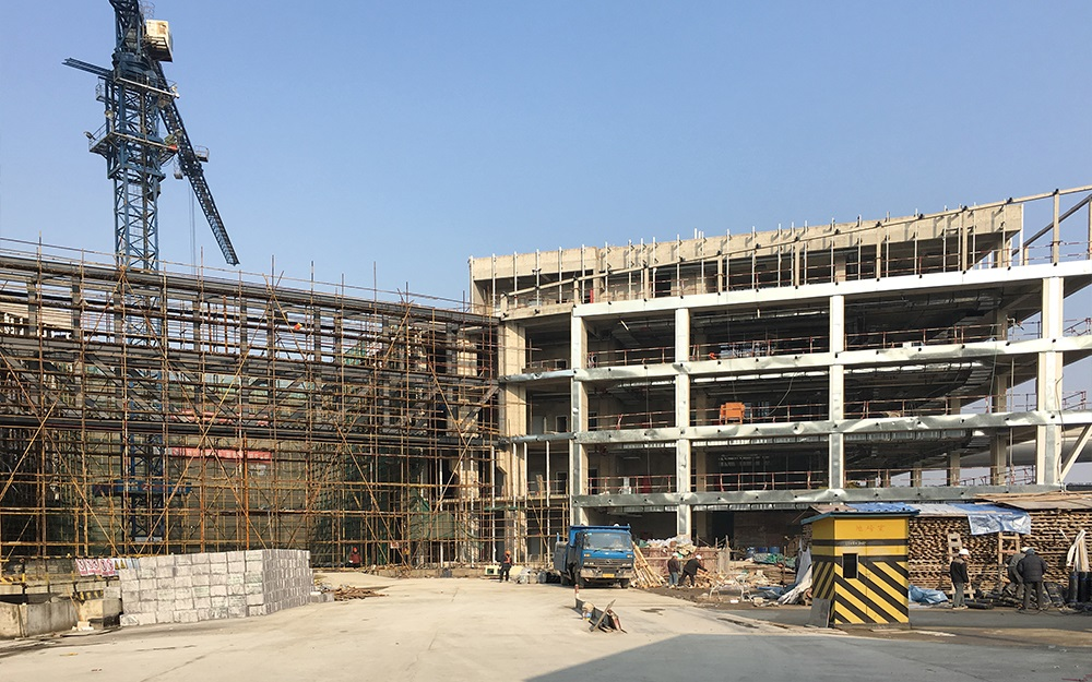 The Main Body of Shanghai Baoye Center Has been Completed